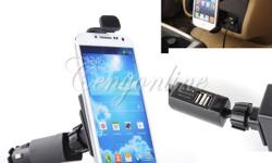 FEATURES * It's a new designed universal car holder as