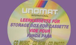 Unomat blank CD Covers includes 10X CD Please visit our