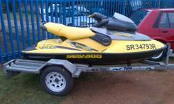 Very good condition Jet Ski. Seadoo 1998 Model Comes on