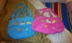 Soort: Baby Gear Soort: Nappie Bags Pink and Blue Nappy