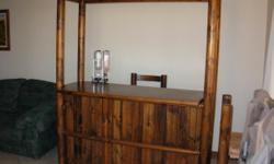 Beskrywing BEAUTIFUL SOLID WOODEN BAR