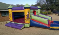 2 jumping castles with new blowwers + an additional