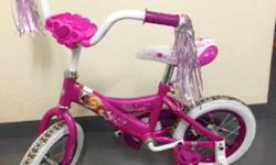 Princess bike (size 12) in mint condition with