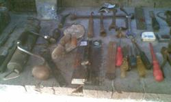 Various tools. old but all still in working order with