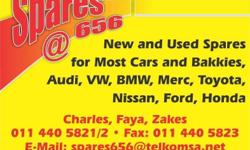 Used spares for most cars and bakkies Audi, VW, BMW,