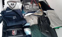 4 boxes of used prime fashion clothes. Giveaway prices.