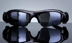 HIGH QUALITY UV SUNGLASSES � HIDDEN CAMERA WITH AUDIO