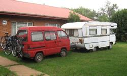�81 VW Camper with a 2L Turbo Diesel Toyota Engine