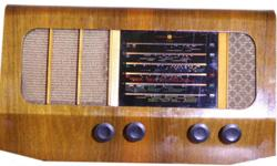 VALVE RADIO � PYE � Cambridge, England  R1500 Model 36H