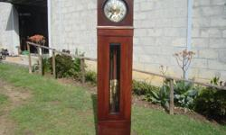 PAARL Grandfather Clock Mahogany RR3000 6 Seater Table