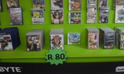 Various console games for R80 and we buy your old games