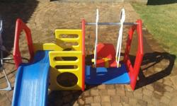 R1500 - Toddler Jungle Gym R150 - Small Smurfs Scooter