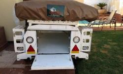 venter 4x4 camping trailer for sale
