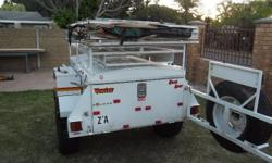 "Venter Bushbaby off road 4x4 trailer with 15"" Michelin"