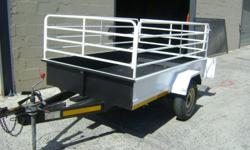 2.4 x 1 ton Venter trailer.   1. Superb for
