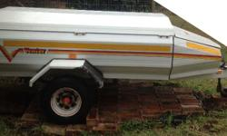 Venter Elite 6 Trailer with nose cone. Good condition.