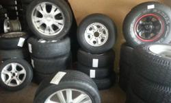 SECOND HAND MAGS & TYRES.  We always ready & happy to