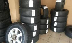 SECOND HAND MAGS, TYRES & RIMS All size, All brand. 60%