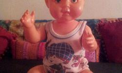 Very old doll, but still in excellent condition.