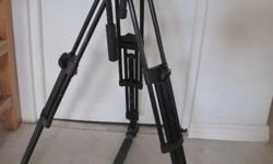 X 1 SONY PD170 camera with Manfrotto Tripod 501 x 1