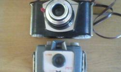 ILFORD SPRITE and EURA FERRANIA vintage cameras in good