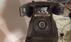 Vintage phones with Coffee Table for sale