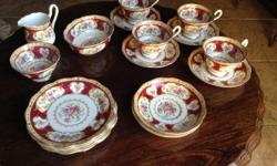 Vintage Royal Albert fine bone china 4 tea cups 6