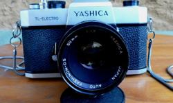 Vintage Yashica TL Electro 35mm, Manual Film camera.