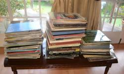 215 vinyl records mostly classical but also a