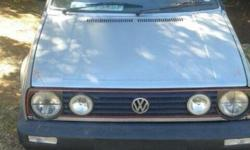 WV Golf 2. New Engine. Running condition. Bargain