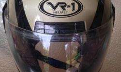 XL VR-1 Helmet with full visor. Excellent condition.
