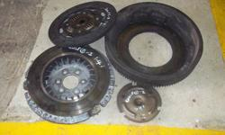 OCT TRADING VW GOLF 1 CLUTCH PRESSURE PLATE AND FLY