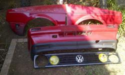 Vw Golf 1 / Citi/caddy 2 fenders without indicators,