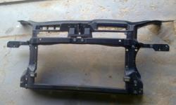 Left headlight, radiator tray/carrier,and protect