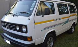 Upcountry rustfree and accident free kombi.  1 owner