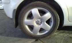 Genuine VW 6J 15 inch Melbourne rims x 2. Comes without