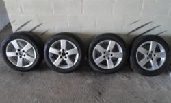 I am selling my VW rims. The rims are in very good