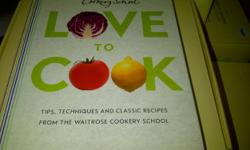 Tema: Cookery I am selling a brand new Waitrose Cookery