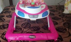 Pink Car Walking Ring in Excellent Condition, with a