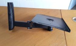 Black wall mount TV stand R100