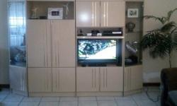 An elegant  large wall unit in very good condition