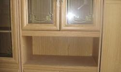 3 Piece wall unit, good condition