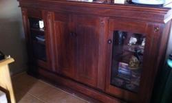 Beskrywing A solid Mahogany wall unit dimensions