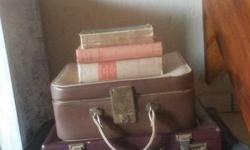 wanted vintage briefcase, suitcase and handbags will