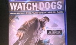 Watch Dogs D1 Edition - Playstation 4 (PS4) game for