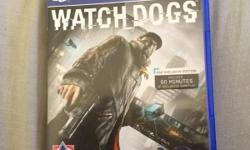 Watch dogs for Ps4 excellent condition of interested