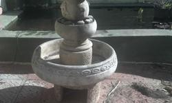Two tier water feature for sale.  R500.  +-1M in height