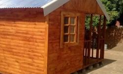 We make Wendy houses and log cabins in all types of