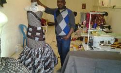 I'm making African wedding dress at a responsible price