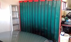 2 x 2m welding screen